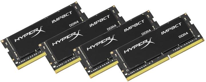 Kingston HyperX Impact 32GB (4x8GB) DDR4 2400 SODIMM