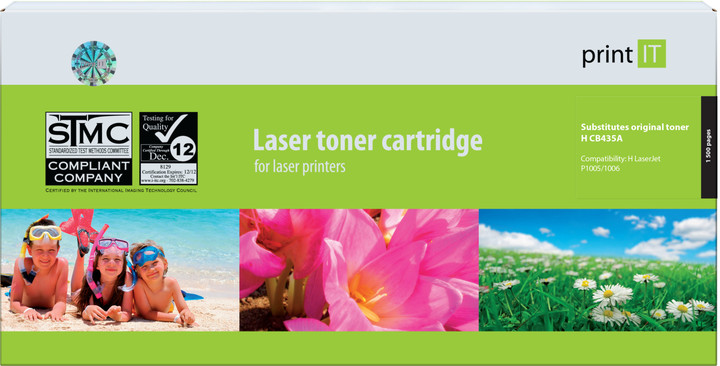 PRINT IT alternativní HP CB435A LJ P1005/P1006 toner
