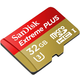 SanDisk Micro SDHC Extreme Plus 32GB 95MB/s UHS-I U3 + SD adaptér