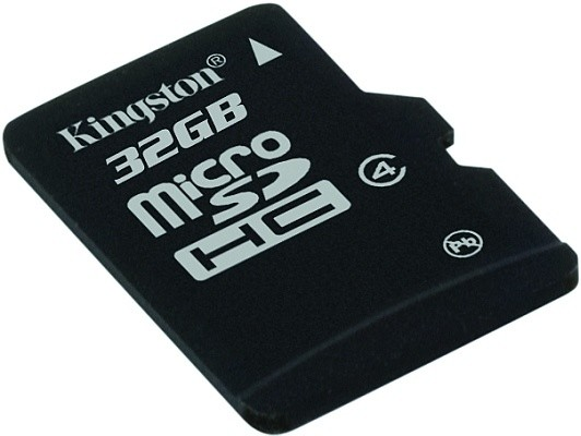 Kingston Micro SDHC 32GB Class 4 + SD adaptér + USB čtečka