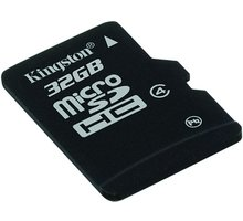 Kingston Micro SDHC 32GB Class 4 + SD adaptér + USB čtečka - MBLY4G2/32GB