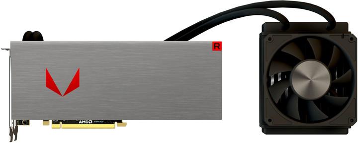 Sapphire Radeon RX Vega64 8G HBM2 Liquid Cooling, 8GB HBM2
