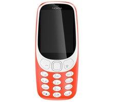 Nokia 3310, Dual Sim, červená - A00028109