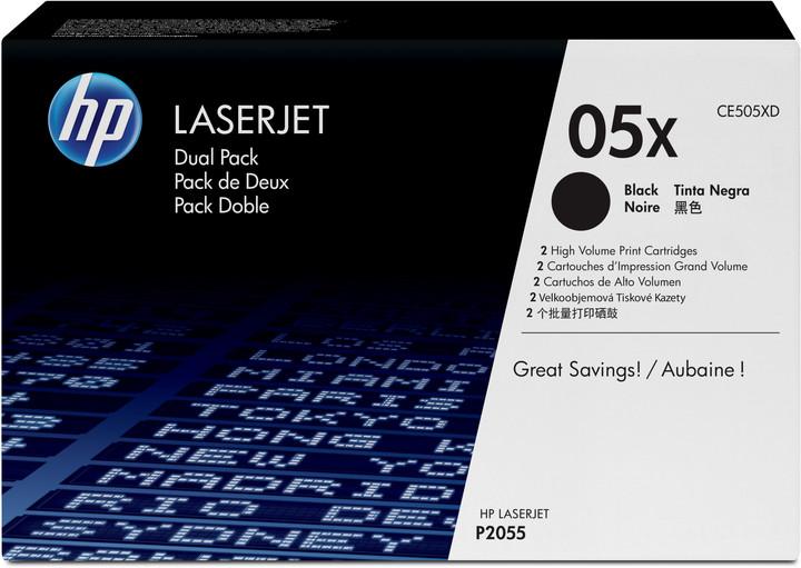 HP CE505X, černý