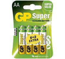 GP AA Super alkalická - 8 ks (6 + 2) - 1013218000