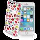 Cellularline STYLE průhledné gelové pouzdro pro Apple iPhone 6/6S, motiv POP