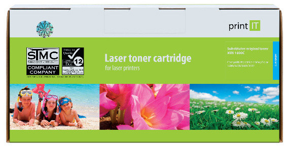 PRINT IT alternativní Minolta A0V30GH pro MagiColor 1600/1650/1680/1690 Cyan