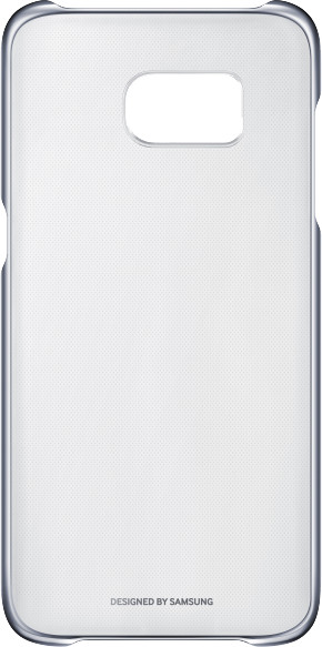 Samsung EF-QG935CB Clear Cover Galaxy S7e, Black