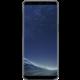 Samsung S8+, Poloprůhledný zadní kryt, černá