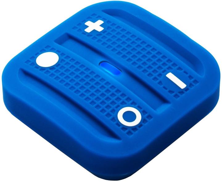 Fibaro NodOn Soft Remote, magnetické bateriové 4tlačítko na zeď, modrá