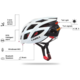 LIVALL BH60 chytrá cyklistická přilba, M-XL bílá
