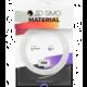 3Dsimo materiál - ABS II (oranžová, černá a bílá)
