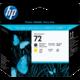 HP C9384A, tisková hlava, černá a žlutá, č. 72