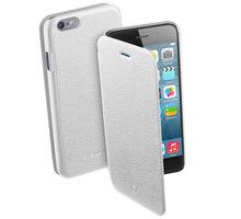 CellularLine pouzdro Book Essential pro iPhone 6, bílá - BOOKESSIPH647W