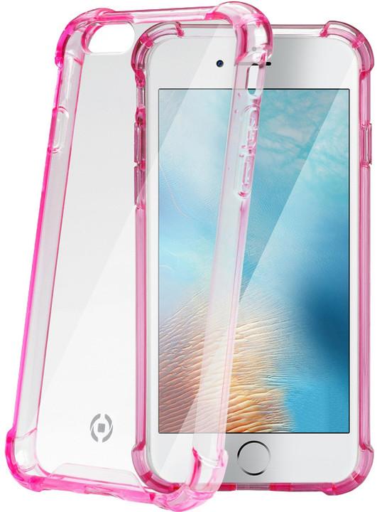 CELLY Armor zadní kryt pro Apple iPhone 7, růžový