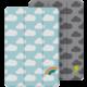 Belkin oboustranné pouzdro pro iPad mini - Duha/Bouřka