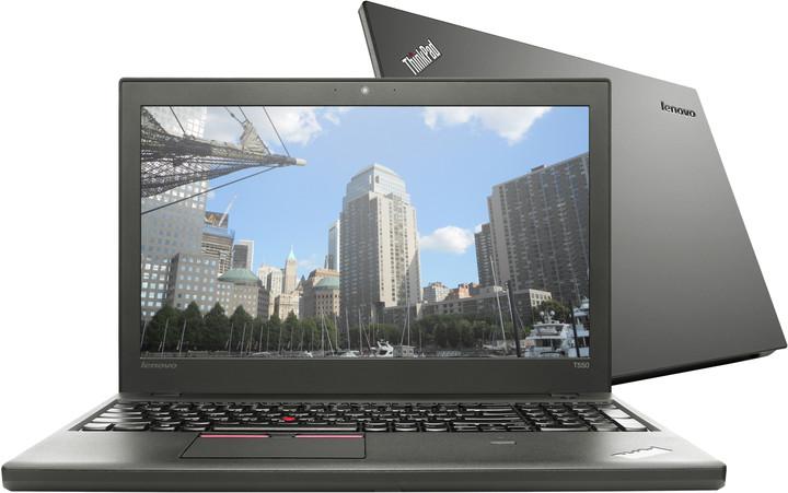 Lenovo ThinkPad T550, černá