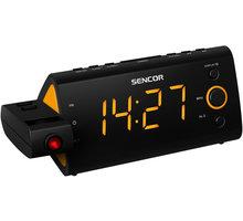 Sencor SRC 330 OR, radiobudík s projekcí