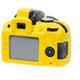 Easy Cover silikonový obal Reflex Silic pro Nikon D3300, žlutá