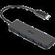 i-Tec USB 3.1 Typ-C Slim 4-portový HUB, černý