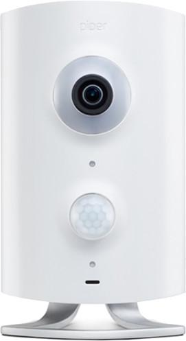 PIPER-NV Z-Wave Gateway, kamera, senzor teploty, pohybu a vlhkosti, bílá