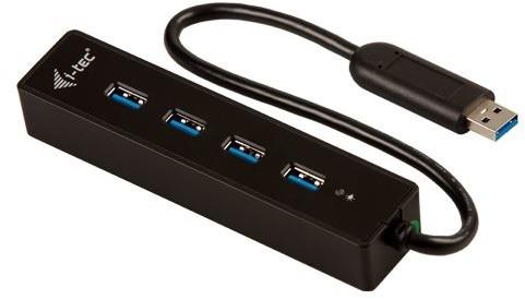 i-Tec USB 3.0 Hub 4-Port, bez napájecího zdroje