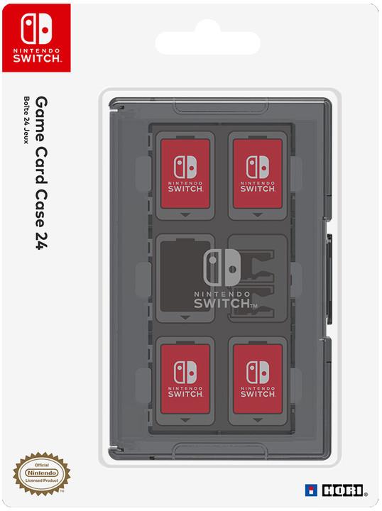 Nintendo Switch Game Card Case 24, černá