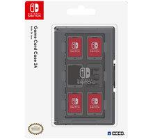 Nintendo Switch Game Card Case 24, černá - NSP200