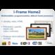 FrameXX PRO 430 digitální fotoobraz, rám bílý