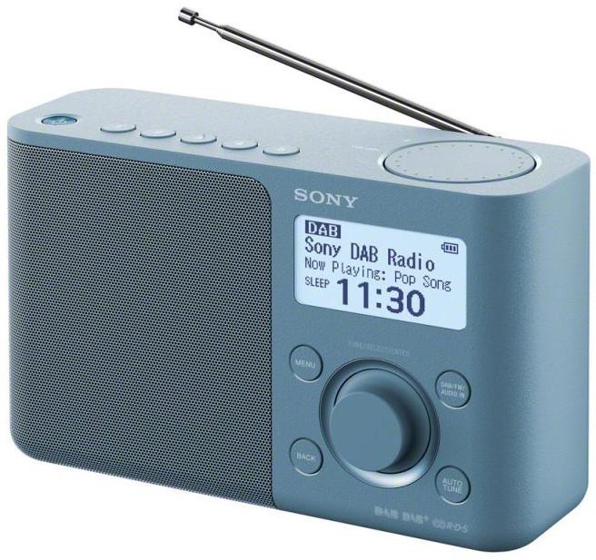 Sony XDR-S61D, modrá
