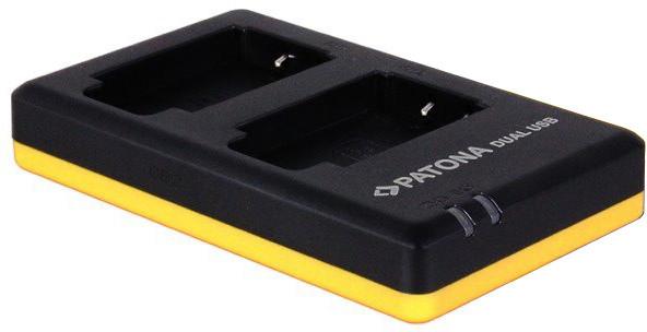 Patona nabíječka Foto Dual Quick Canon BP-508 USB