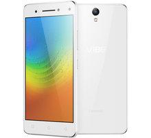 Lenovo Vibe S1 - 32GB, LTE, bílá - PA200014CZ + Zdarma SIM karta Relax Mobil s kreditem 250 Kč