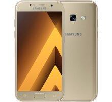 Samsung Galaxy A3 2017, zlatá - SM-A320FZDNETL