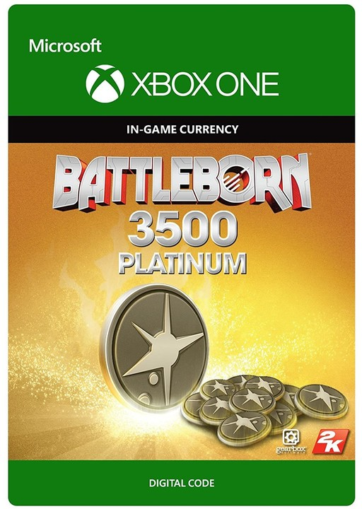 Battleborn - 3500 Platinum Pack (Xbox ONE) - elektronicky