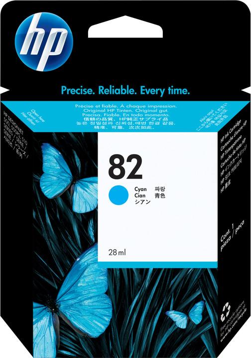 HP C4911A, č. 82, azurová