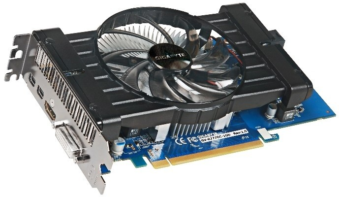 GIGABYTE HD 7770 Experience OC 1GB