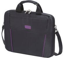 """DICOTA Slim Case BASE 14-15.6"""", černá/fialová - D31000"""