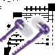 Accent EPZ 101, fialová