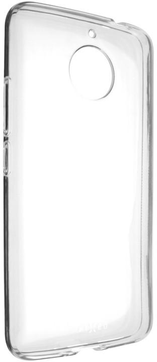 FIXED gelové TPU pouzdro pro Motorola Moto E4 Plus, bezbarvé