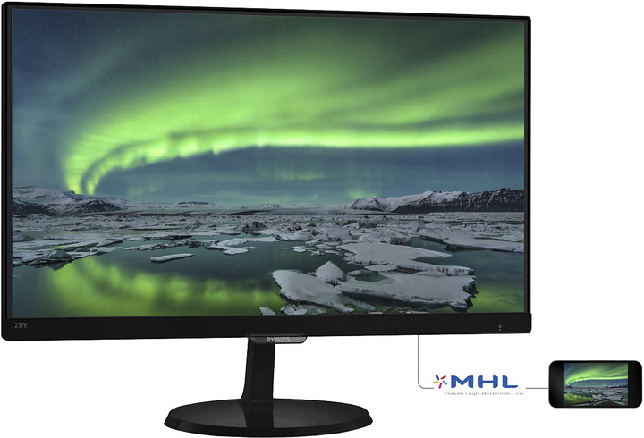 Philips 237E7QDSB - LED monitor 23""