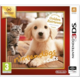 Nintendo 3DS XL, růžová + Nintendogs+Cats: Golden Retriever