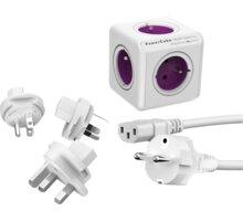 PowerCube Rewirable + Travel Plugs + IEC kabel - REWIRABLE + TP + IEC