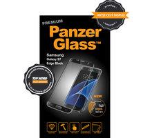 PanzerGlass ochranné sklo na displej pro Samsung S7 edge Premium, černá - 1048