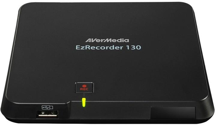 AVerMedia EZRecorder 130 Capture Box, nahrávací/střihová karta