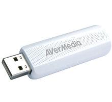 AverMedia TV tuner DVB-T2 TD310, bílý - 61TD3100A0AC