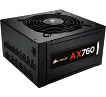 Corsair AX760, 80+ Platinum 760W - CP-9020045-EU