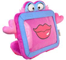 Wise Pet ochranný a zábavný dětský obal - plyšová hračka na tablet - Chichi - WSP-900209