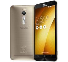ASUS ZenFone 2 ZE551ML - 64GB, zlatá - 90AZ00A4-M00540 + Zdarma SIM karta Relax Mobil s kreditem 250 Kč