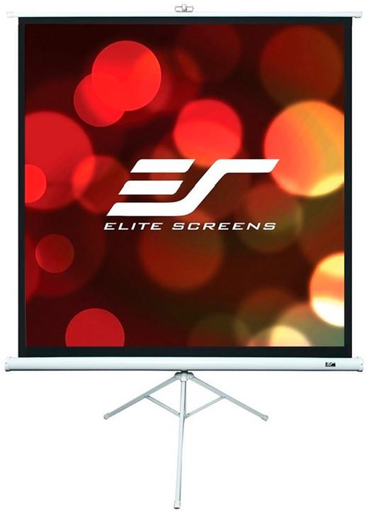 """Elite Screens plátno mobilní trojnožka 119"""" (302,3 cm)/ 1:1/ 213,4 x 213,4 cm/ case bílý"""
