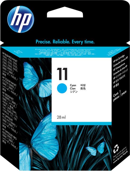 HP C4836AE, no.11, azurová
